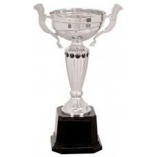 CMC28  Metal Cup with Black Dots